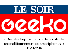 « Une start-up wallonne à la pointe du reconditionnement de smartphones » (11/01/2019)